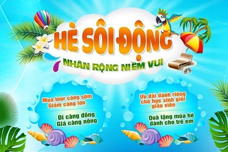Những điểm du lịch mùa hè đẹp nhất Việt nam năm 2020